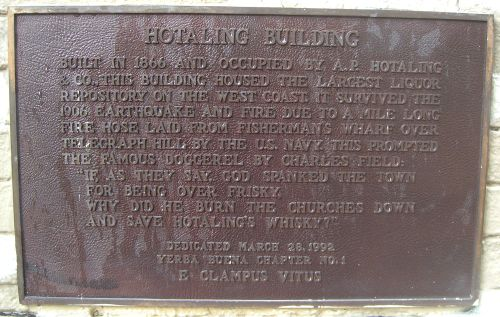 Hotaling BuildingS