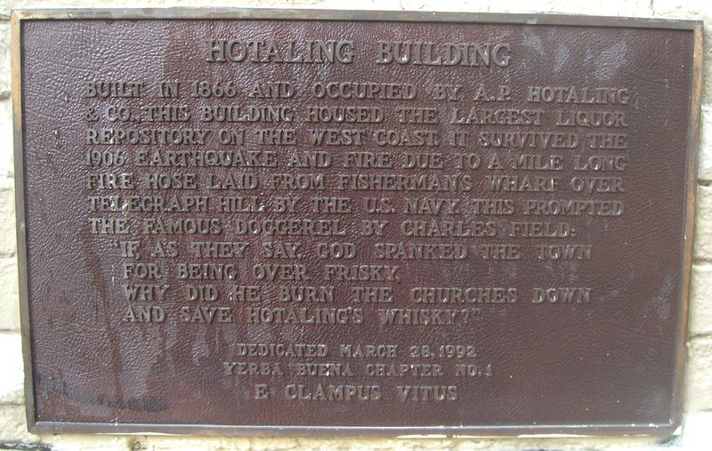 Hotaling BuildingS