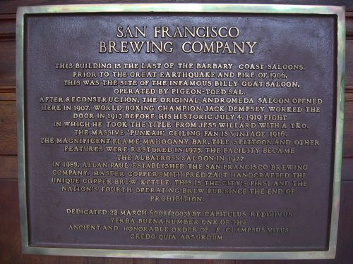 SF Brewing Cos