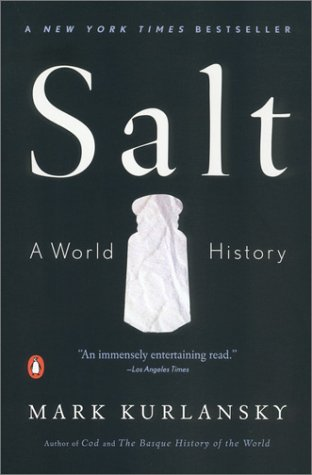 Salt book by Mark Kurlansky