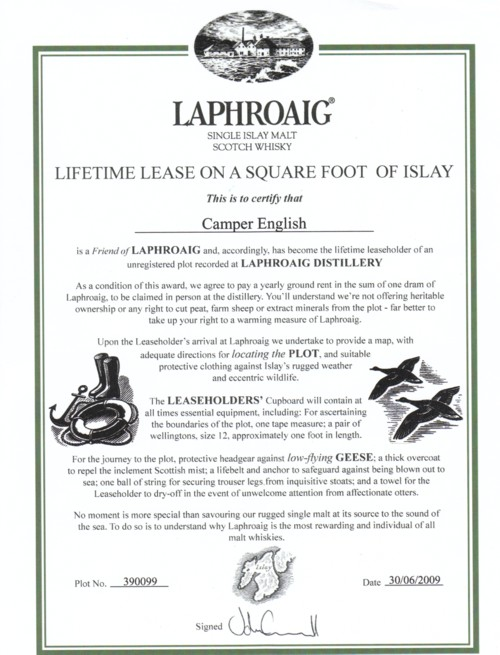 LaphraoigSquareFootCamperEnglish