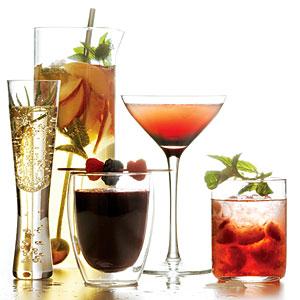 Sunset summer cocktails