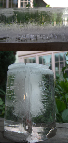 making clear ice