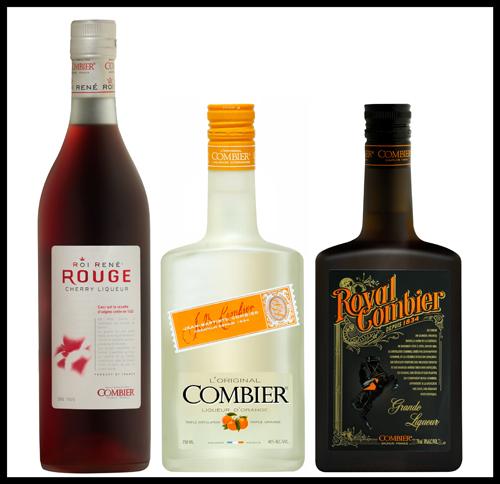 COMBIER - Les trois bouteilless