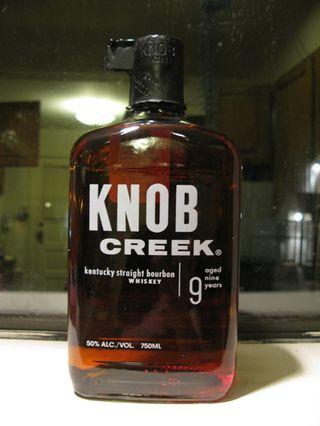 Knob creek bottle