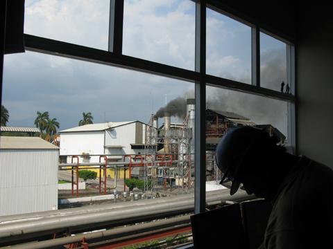 Zacapa distillery control room views