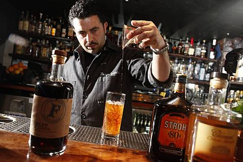 Coffee liqueurs by Camper English in the San Francisco Chronicle