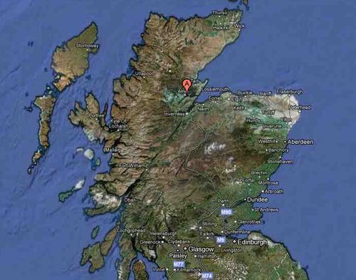 Dalmore distillery location