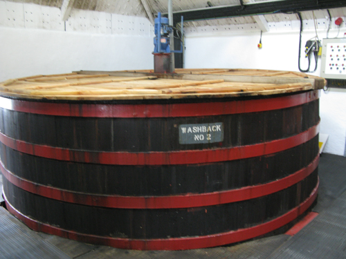 Fettercairn distillery washbacks