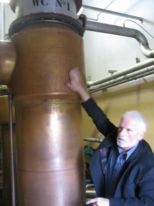 Fettercairn distillery condensers