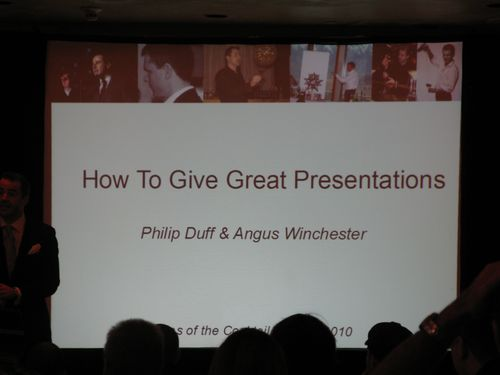 How to give great presenations