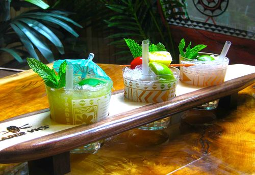 The Wave trader vics mai tai sampler