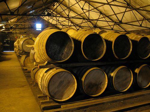 Auchentoshen barrel aging warehouse2