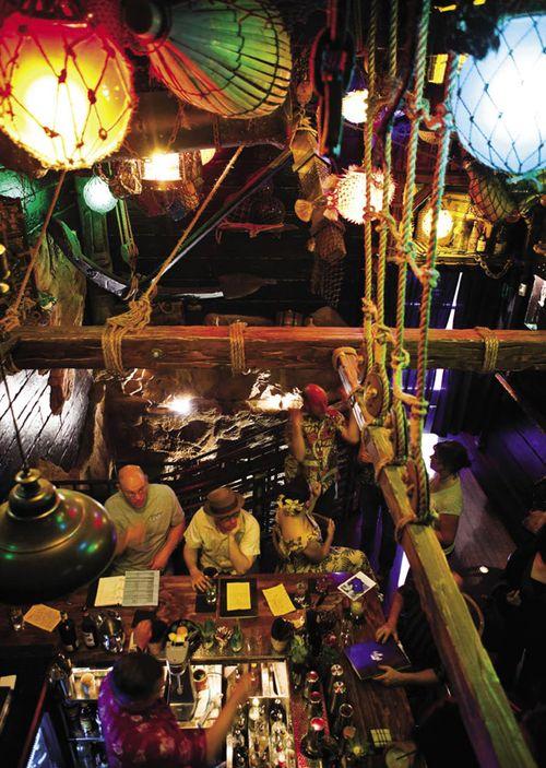 Tiki bars in san francisco history
