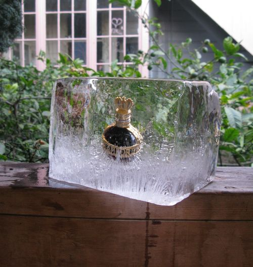 Bottle in clear ice 81_tn