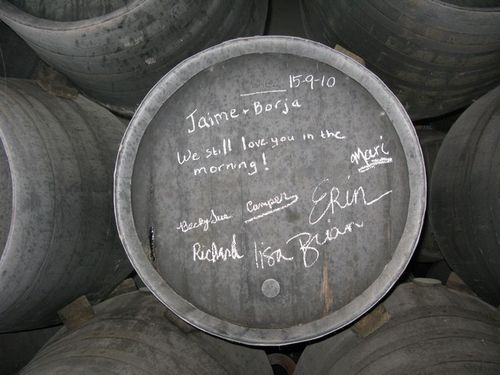 Bodega sanchez romate ouru signed barrel_tn