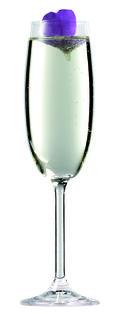 June & Champagne with garnishM