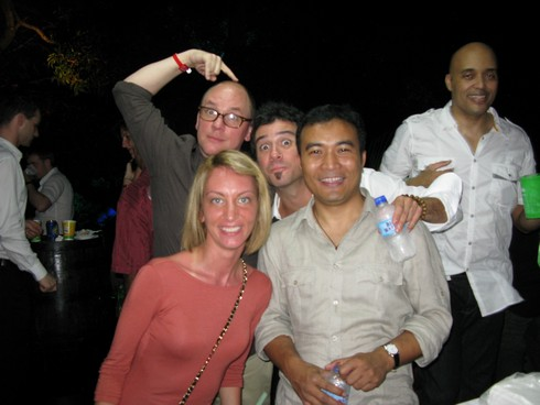 Fun party at Brian Laras house trinidad_tn