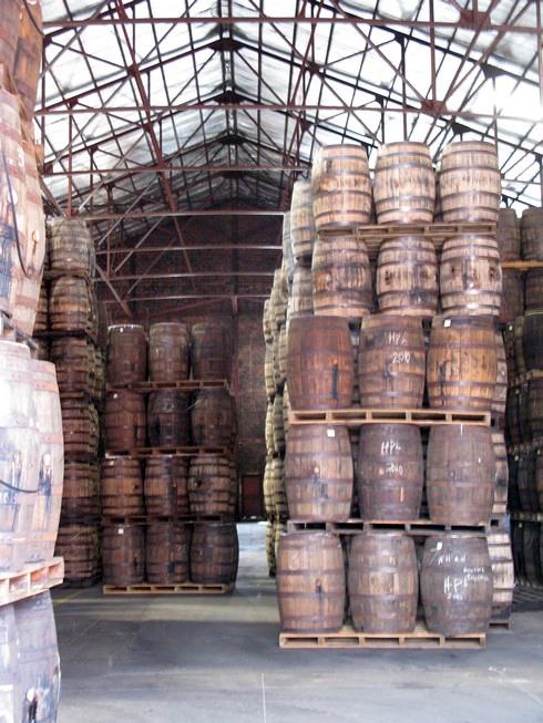 Aging warehouse Angostura Distillery Trinidad3_tn
