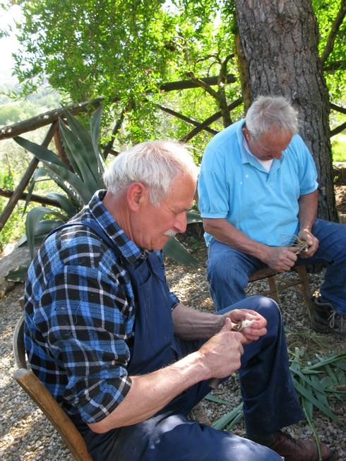 Pweeling orris root 7 Orris Root Harvest Tuscany with Bombay Sapphire_tn