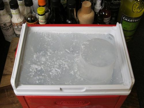 Cylendar in cooler