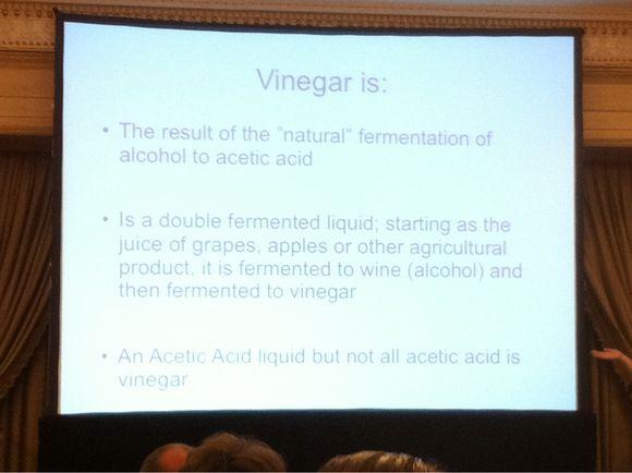 Vinegar: The Other Acid