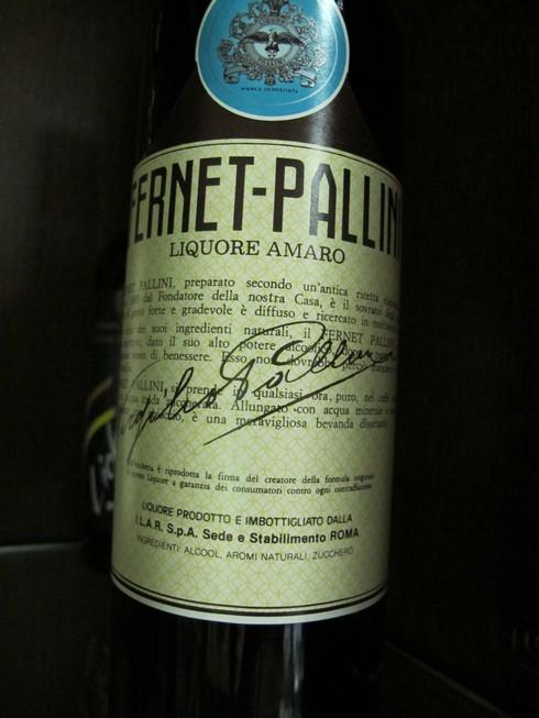 Fernet pallini pallini distillery_tn