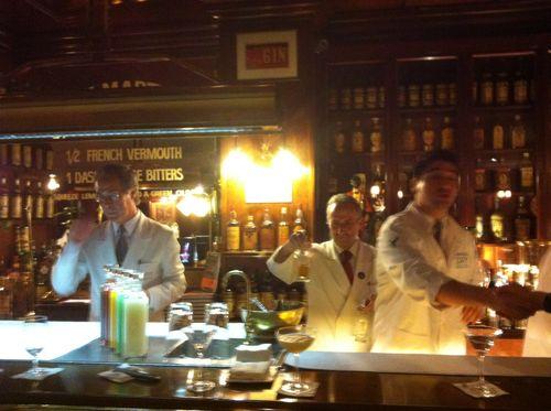 Dry martini bar barcelona bartenders