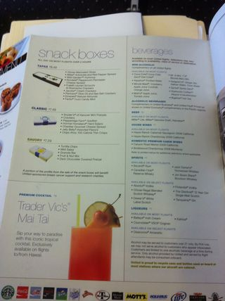 United drink menu may 2011