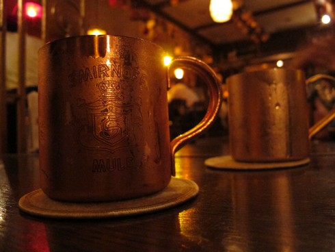 Three martini bar yokohama moscow mule mugs_tn