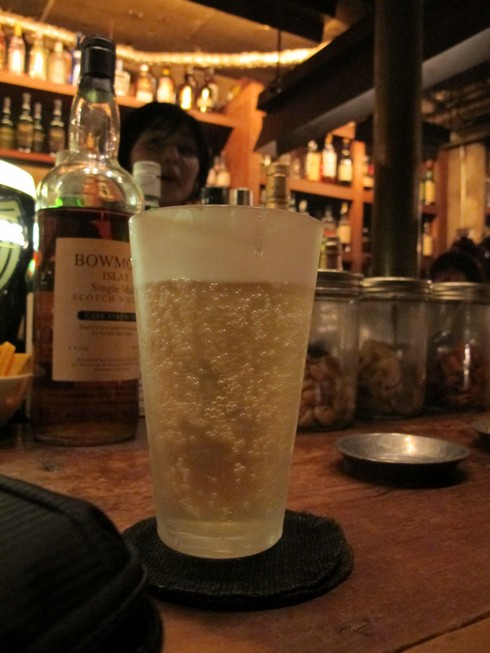 Highball without ice bar track  ebisu tokyo_tn
