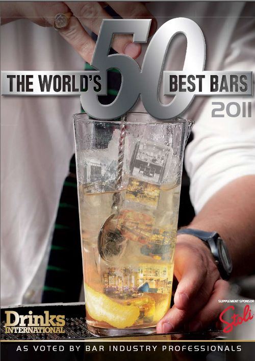 Drinks International Best Bars Cover Nov 2012