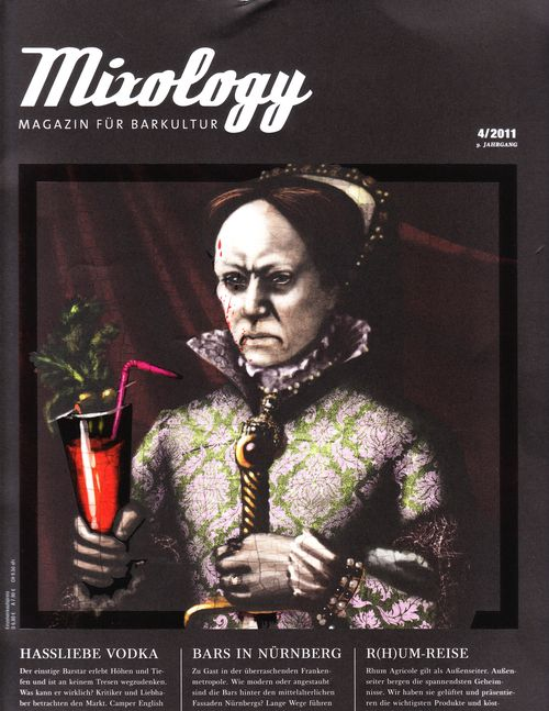 Mixology cover bloody mary