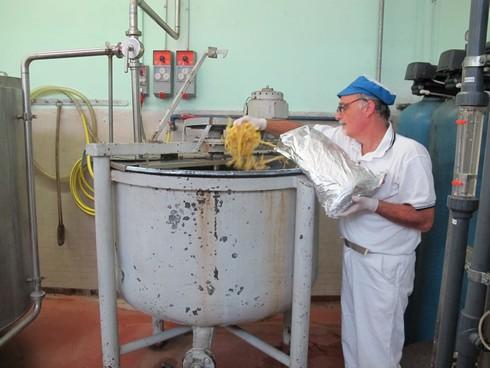 Adding lemon peels pallini distillery_tn