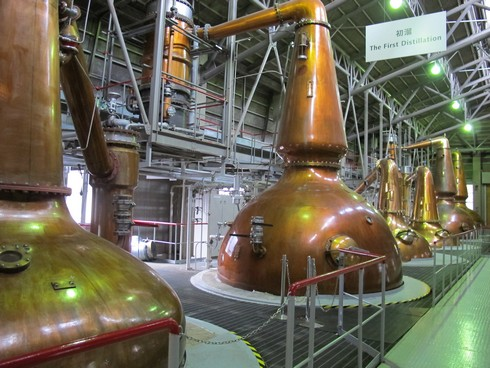 Hakushu Distillery still3_tn