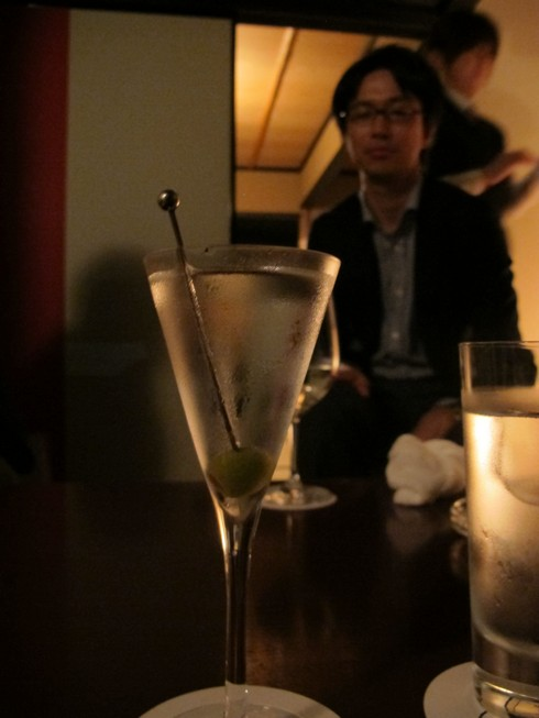 One shot bar kyoto japan martini_tn