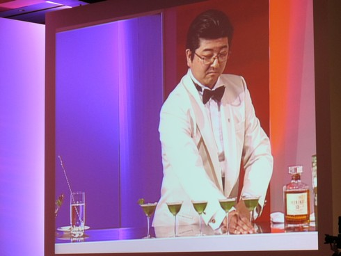 Suntory 2001 Cocktail Award bartender_tn