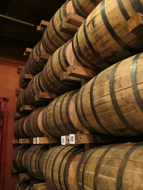 George Dickel distillery rickhouse_tn