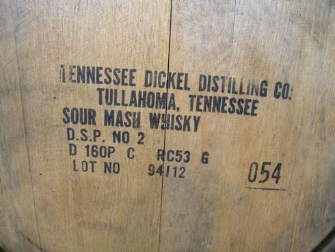 George Dickel distillery rickhouse_tn