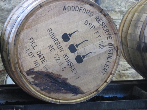 Woodford Reserve Distillery barrel_tn