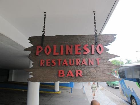 Polinesio Tiki Bar Havana Former Trader Vics sign_tn