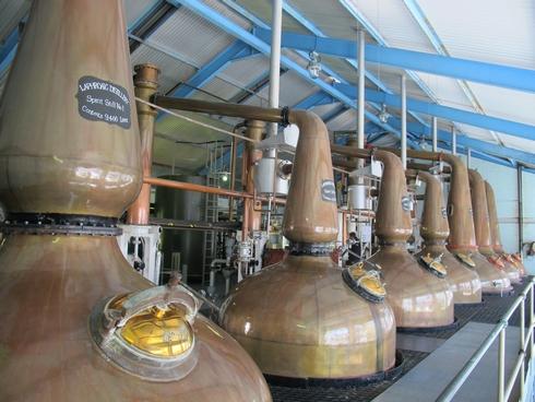 Stills Laphroaig Distillery Islay Scotland2_tn