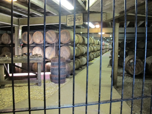 Warehouse 1 Laphroaig Distillery Islay Scotland_tn