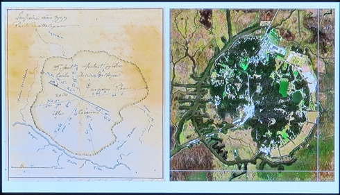 Old map of avery island_tn