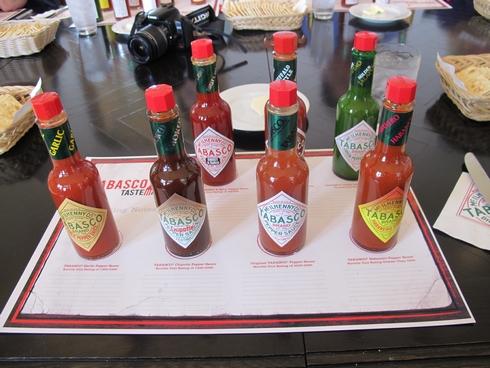 Tabasco sauce tasting_tn