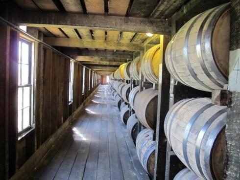 Heaven Hill Distillery rickhouse_tn