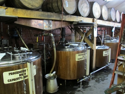 Buffalo Trace Distillery chill filtration_tn