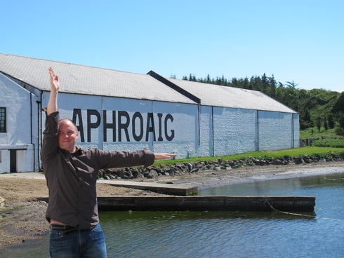 L for Laphroaig Distillery Islay Scotland2_tn