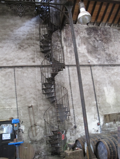 Eiffel staircase Noilly Prat Marseillan France (2)_tn