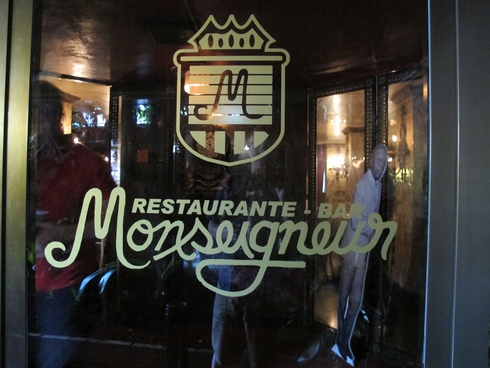 Monsignor restaurant Havana Cuba sign_tn